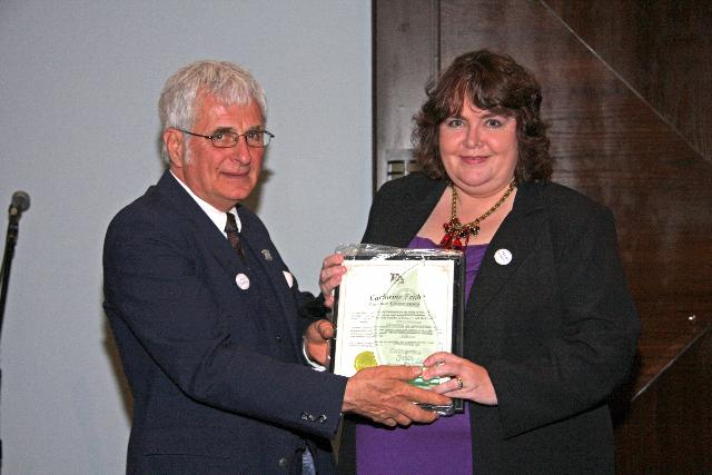 Customer Service Award - Catharine Frith