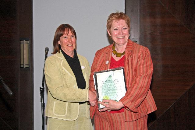 Chamber Volunteer of the Year Patricia Miscampbell