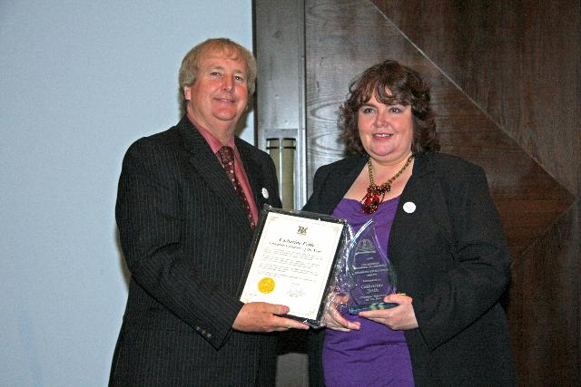 Chamber Volunteer of the Year - Catharine Frith